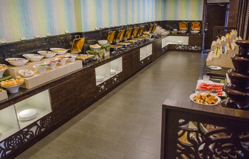 Sattvam's Neo-Classical Vegetarian Sattvic Buffet at its new outlet at JP Nagar.